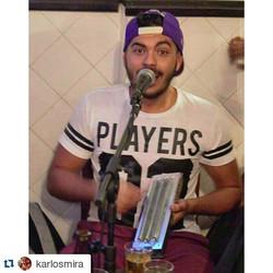 """Instagram - #Repost @karlosmira ・・・ """"Hoje eu acordei com vontade de cantar pagod"""