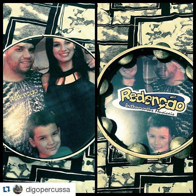 Instagram - #Repost @digopercussa ・・・ Presente da @redencao_instrumentos_musicai