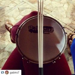 Instagram - #Repost @gabiro7 ・・・ Diversão de terça a noite #bateria #repicapau #