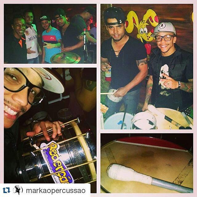 Instagram - #Repost @markaopercussao ・・・ Mais uma noite de trabalho...jpg