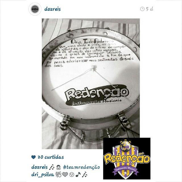 Instagram - #TeamRedenção @dozreis