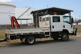 Truck and crane hire Gladstone Calliope