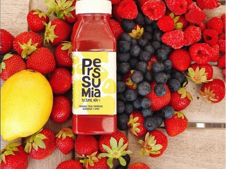Pressumia, los zumos de agricultura local, made in Spain