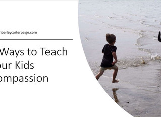 8 Ways to teach your Child Compassion