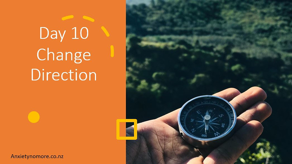 Day 10 Change Direction