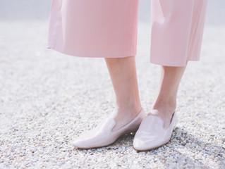 【白い革靴のお手入れ】