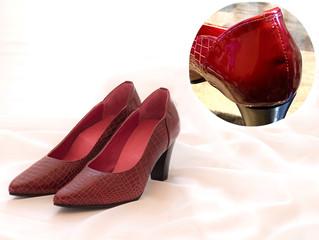 【ハンドメイド靴の穴】