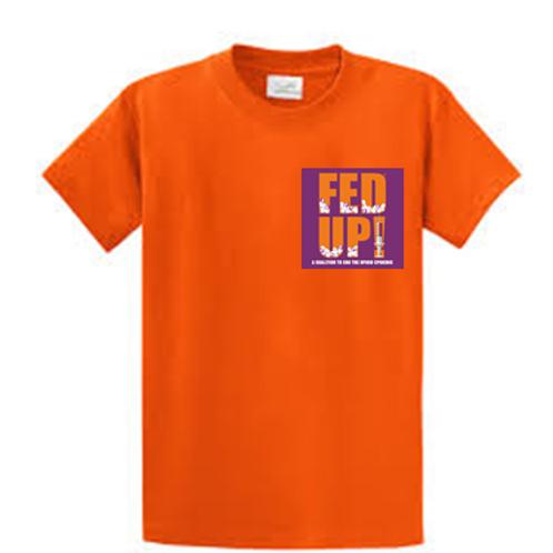FED UP Coalition Orange T-Shirt