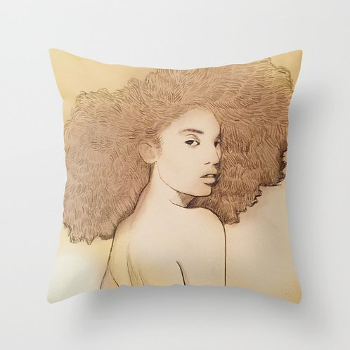 Afro Queen Pillow