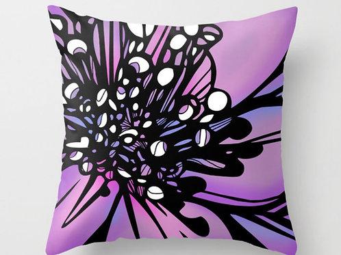Purple Lily Pillow