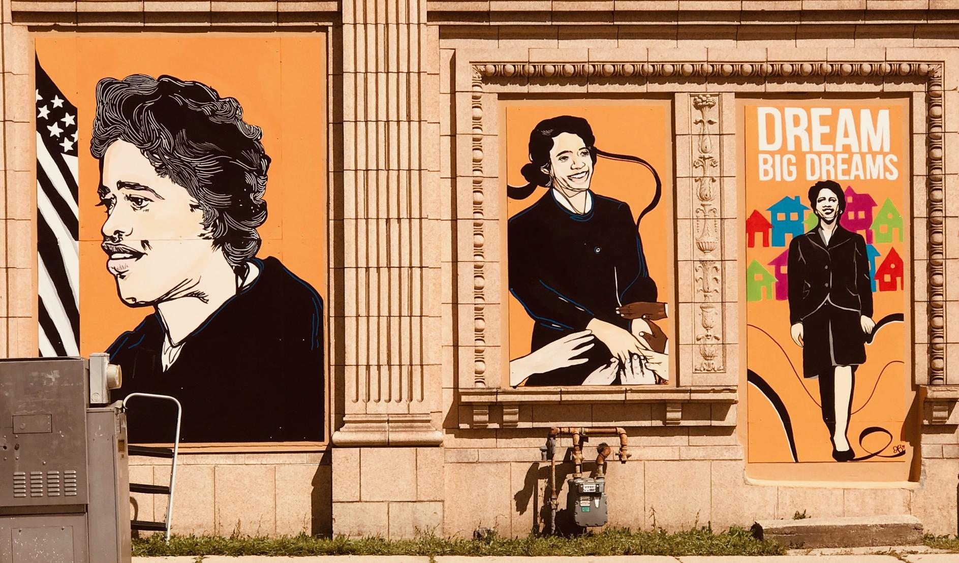 Vel R. Philips Mural