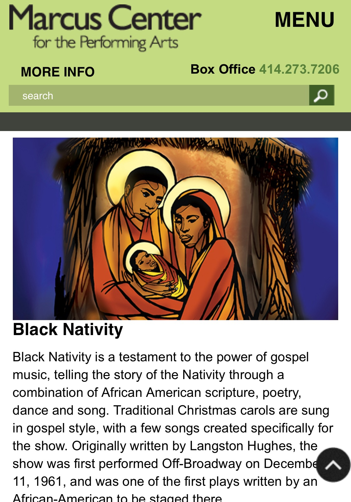 Black Nativity, 2015