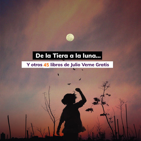 ¡Lee 45 libros de Julio Verne sin costo!