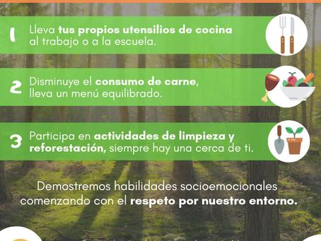 3 acciones para cuidarel planeta