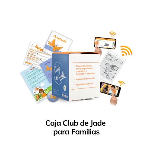 Caja Club de Jade Familias 1 hijo (preescolar / primaria)
