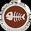 Thumbnail: Médaille en émail Arête de poisson