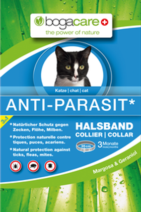 Collier Anti Parasite Chat Margosa/Geraniol