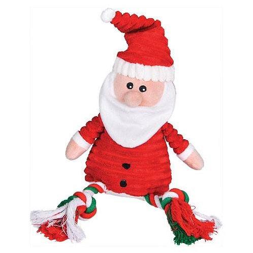 Peluche Père Noël Corde Sonore