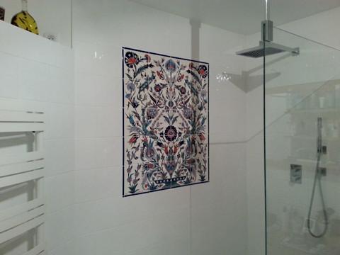 Décor intérieur de salle de bains
