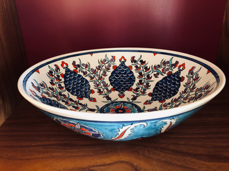 Pomegranates bowl
