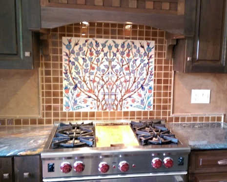 Tree of Life Kitchen Interior