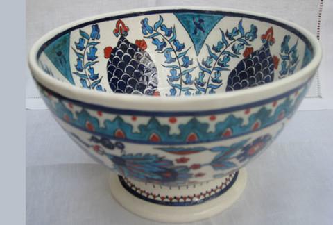 Iznik Bowl with Hyacinths