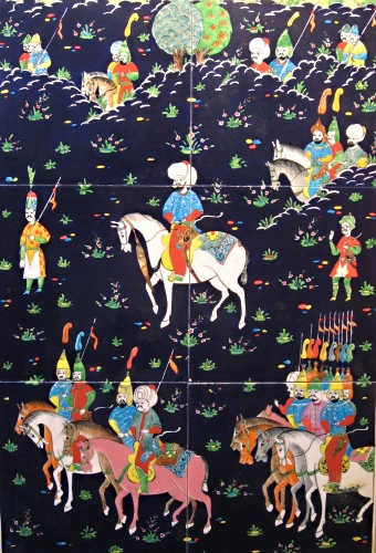 Persian Miniature Detail