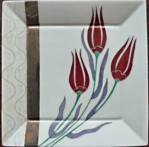 Tulips in Rubis