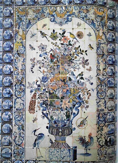 Panel for a castle