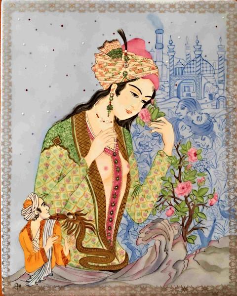 Jeune fille persane