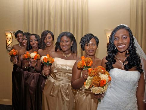 Naomi and Bridesmaids