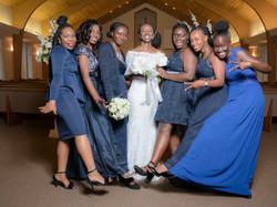 Sanyu & Bridesmaids