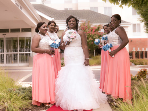 Odette and Bridesmaids