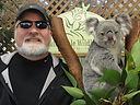 Victor and a koala bear