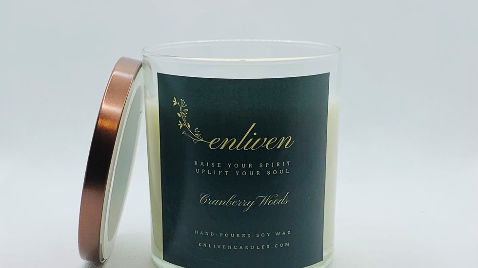 Cranberry Woods 8.5oz. Soy Candle