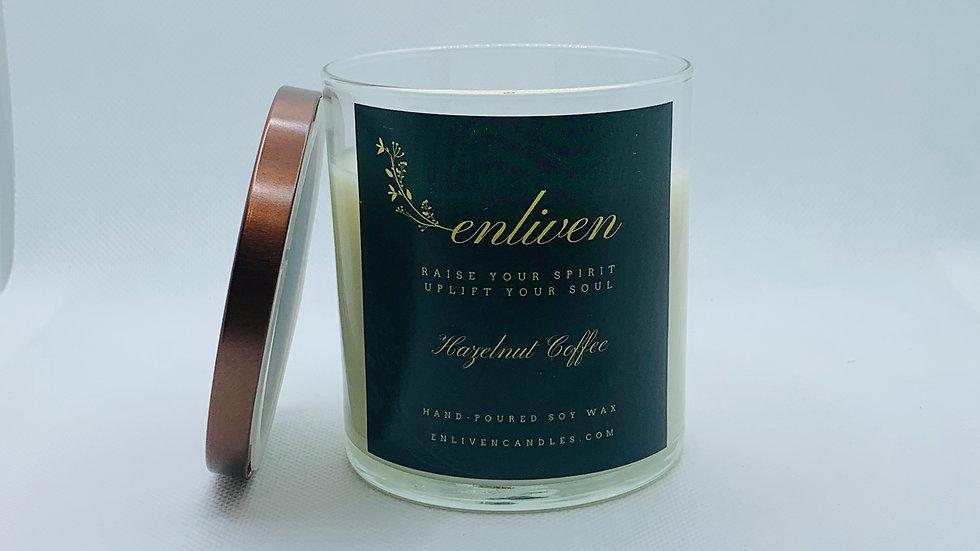 Hazelnut Coffee 8.5oz. Soy Candle
