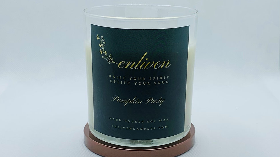 Pumpkin Party 8.5oz. Soy Candle