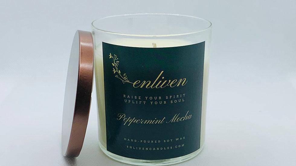 Peppermint Mocha 8.5oz. Soy Candle