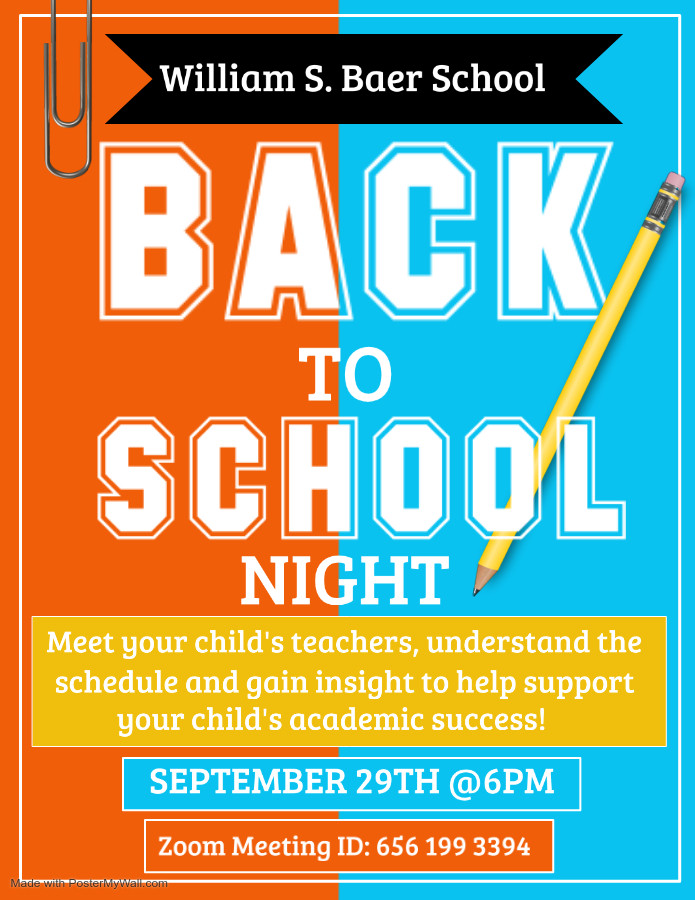 Back to School Night 2020