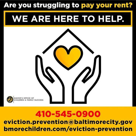 Rent Support Baltimore City