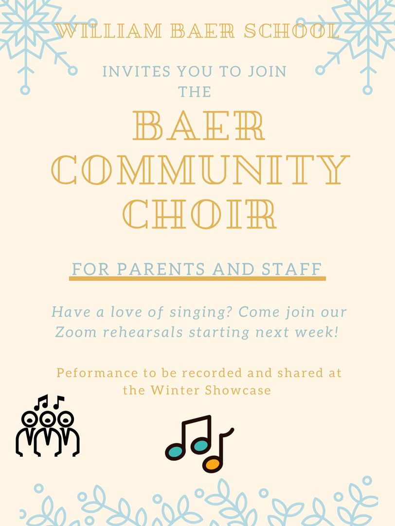 Baer Community Choir