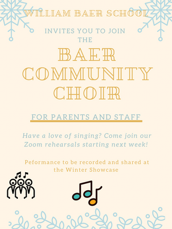 Baer Community Choir