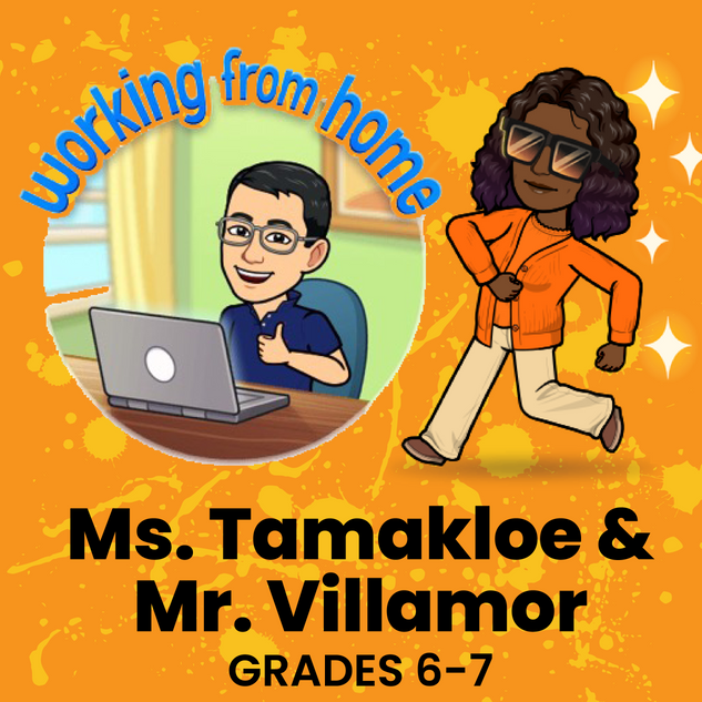 Ms. Tamakloe & Mr. Villamor