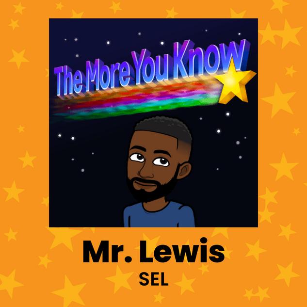 Mr. Lewis SEL