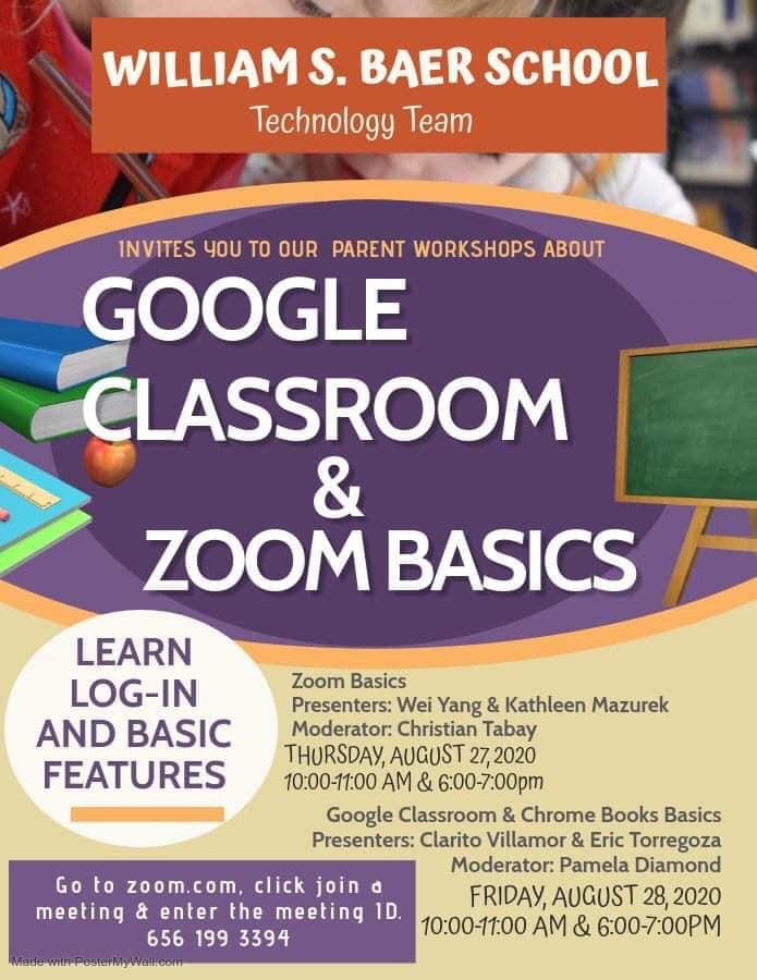 Zoom Classroom Basics