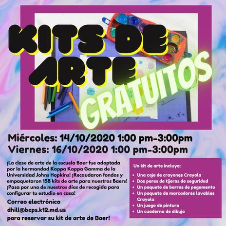 Kits de Arte Gratuitos!