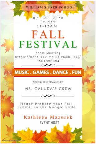Fall Festival 2020