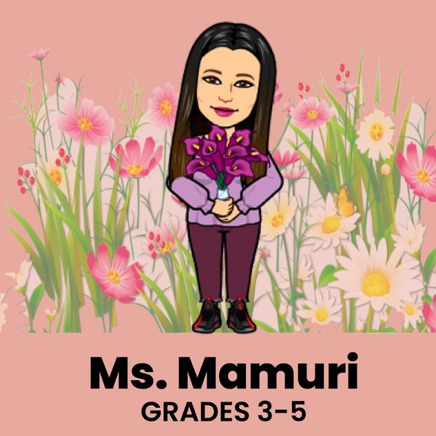 Ms. Mamuri