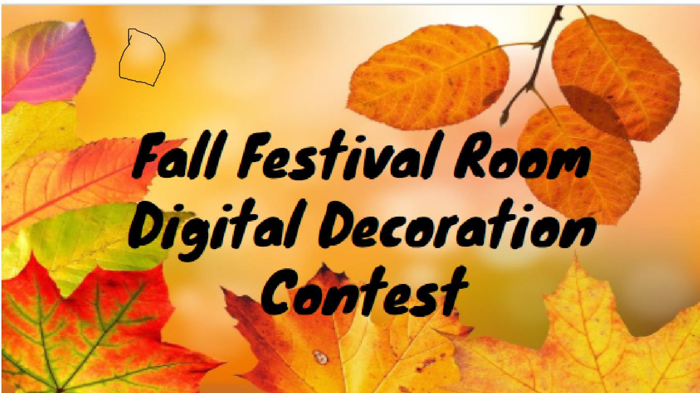 Fall Festival Digital Decoration Contest