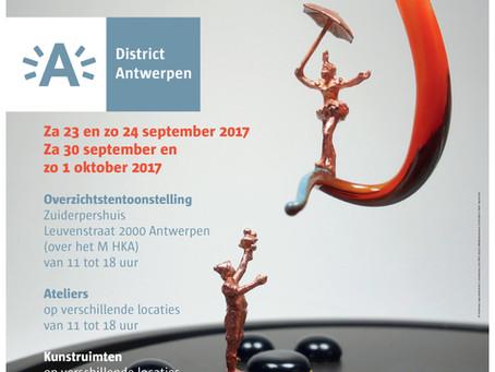 OPEN ATELIERS ANTWERPEN  -  RITA RAE MERTENS - Za 23 en Zo 24 september, Za 30 september en Zo 1 okt